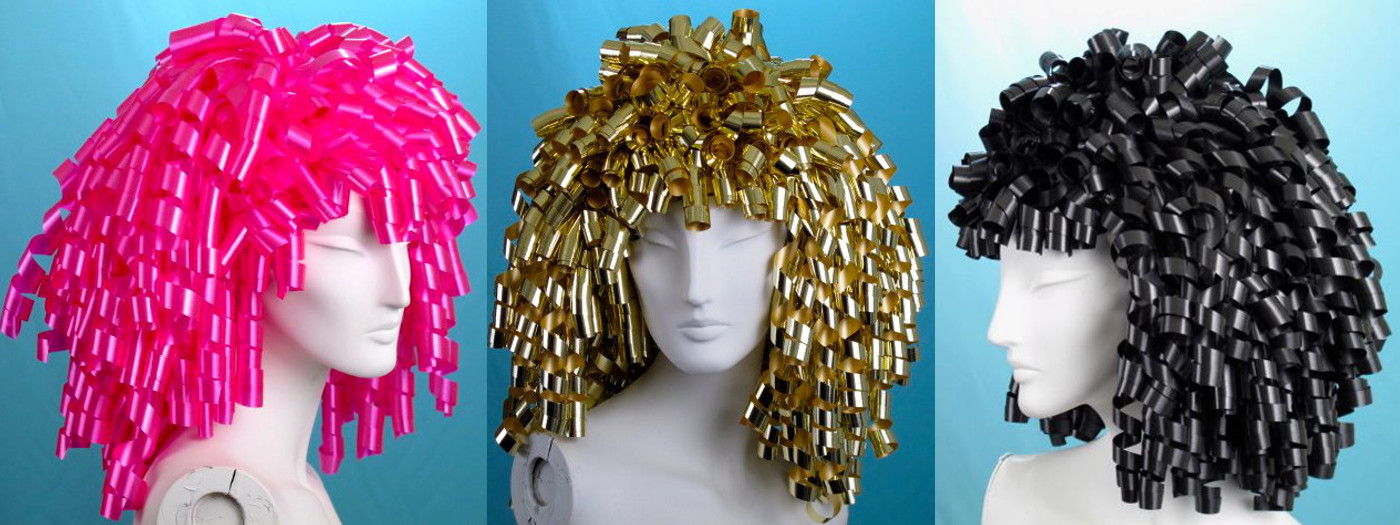 Handcrafted wig hats