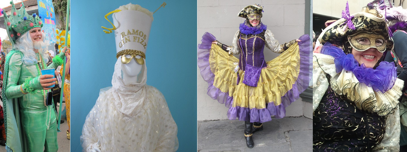Handcrafted Mardi Gras Costumes